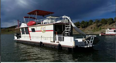 1989 Boatel Houseboats Bluewater 40