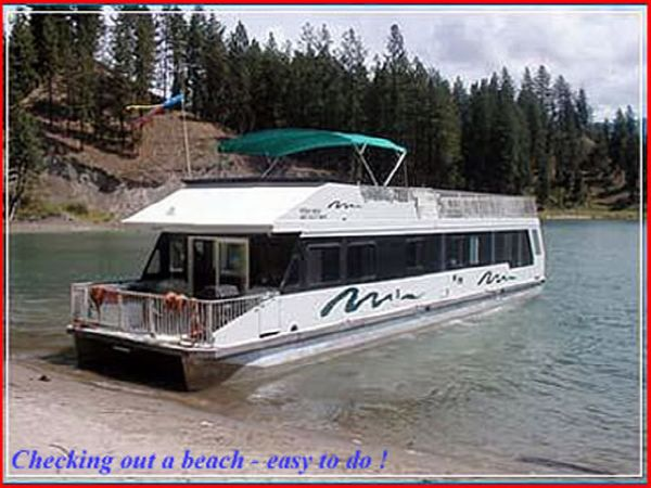 1999 Custom Twin Anchors Houseboat Profile