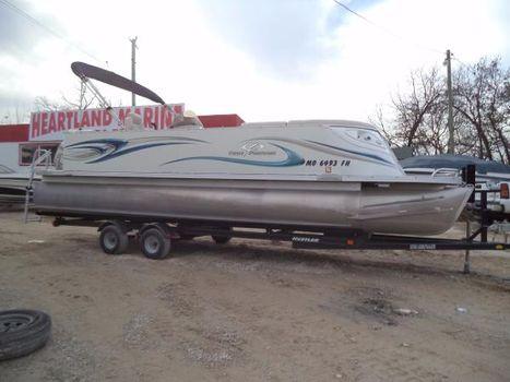 2006 Crest Pontoon Boats 25 LST Savannah Tri Toon