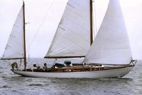 1960 Concordia Yawl ENVOLEE