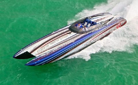2018 MYSTIC POWERBOATS C4400