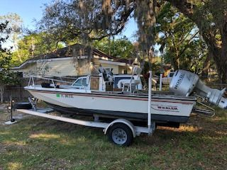 1983 Boston Whaler Outrage 17