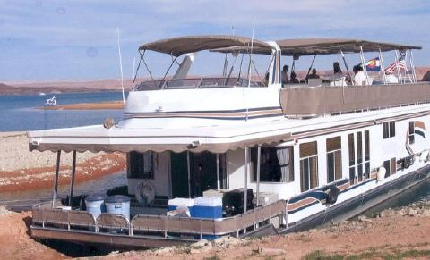 2001 Sharpe Houseboat