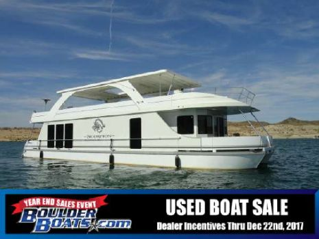 2008 Desert Shore Yachts 18' X 70' Houseboat