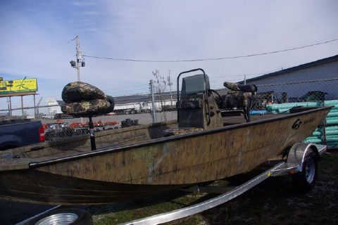 2017 G3 Boats Bay 18 DLX Camo