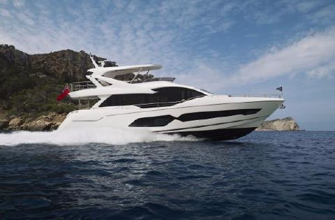 2018 Sunseeker 76 Yacht Manufacturer Provided Image: Sunseeker 76 Yacht