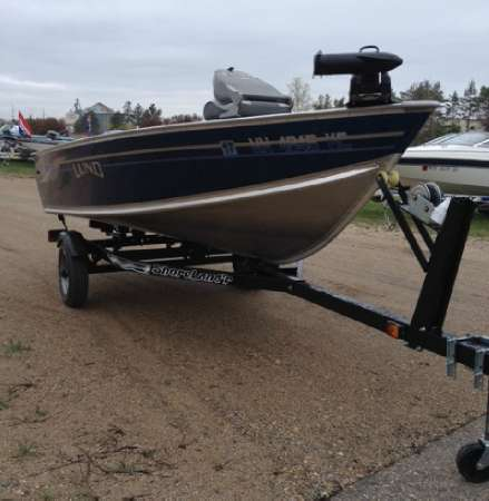 2005 lund 1450 rebel 14 foot 2005 lund fishing boat in for Used fishing boats for sale mn