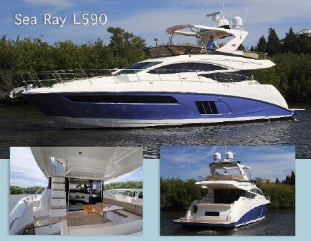 2017 Sea Ray L590 Fly