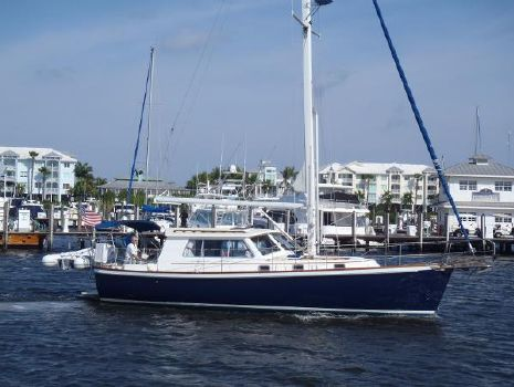 1998 Cabo Rico Northeast 400 by Mark Ellis Stbd side