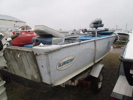 1976 Alumacraft 16' Fisherman