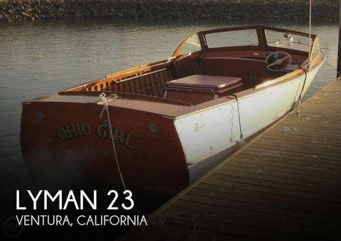 1957 Lyman 23 1957 Lyman 23 for sale in Ventura, CA